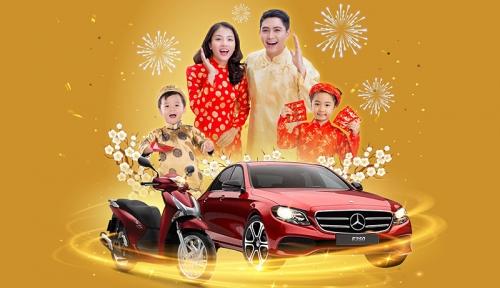 'Tết kết gia đình, nhà rinh tài lộc' đón Mercedes E250