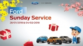 Ford ra mắt dịch vụ Ford Sunday Service