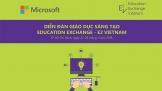 Microsoft Việt Nam tổ chức Diễn đàn Giáo dục Sáng tạo