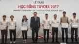 TVM trao học bỗng Toyota 2017 cho 115 sinh viên xuất sắc
