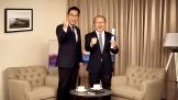 HLV Park Hang Seo đồng hành cùng Samsung Việt Nam trong năm 2018