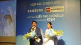 Samsung xúc tiến lan tỏa phương pháp giáo dục STEM tại Việt Nam