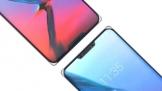 ZTE lộ concept smartphone màn hình tràn viền, khuyết hai cạnh