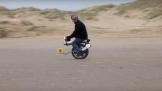 Xe điện cân bằng tự chế