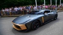 Nissan GT-R50 'khoe dáng' tại Lễ hội tốc độ GoodWood 2018
