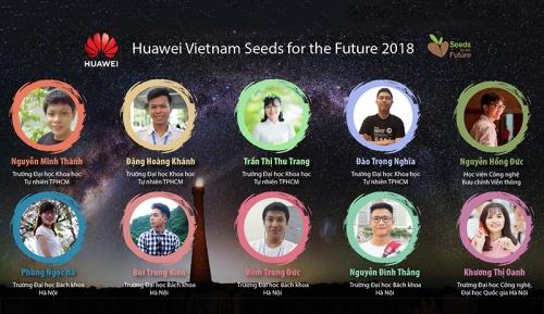 """10 sinh viên tham gia chương trình """"Hạt giống Viễn thông Tương lai"""" mùa 3"""