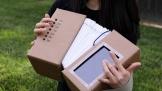 Thú vị đàn accordion làm từ giấy co-ton và máy game Nintendo Switch