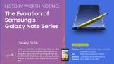 [Infographic] Lịch sử phát triển Galaxy Note