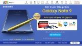 Đến FPT Shop, mua Galaxy Note9 nhận quà xịn