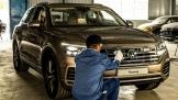 Đưa Volkswagen Touareg 2019 đi Spa chuẩn bị cho VMS 2018