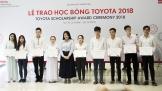 TMV trao học bổng cho 35 sinh viên xuất sắc của 4 trường ĐH khu vực miền Nam