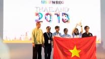 Đoàn Việt Nam giành giải Future Innovator tại Robotics Quốc tế WRO 2018