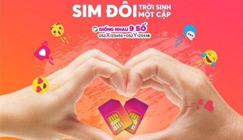 Vietnamobile ra mắt SIM 'Trời Sinh Một Cặp'