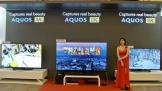 Sharp mang TV 8K và smartphone màn hình dẻo OLED đến Việt Nam