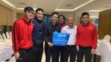 Asanzo trao tặng 1 tỷ đồng cho tuyển Việt Nam ngay trong đêm