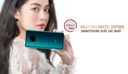 Huawei Mate 20 Pro: Smartphone xuất sắc nhất