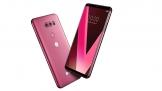 CES 2018: LG 'khoe' V30 Raspberry Rose