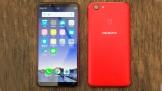 Trên tay OPPO F5 4GB phiên bản đỏ, giá không đổi