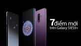 7 điểm mới trên Galaxy S9/ S9+