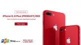 iPhone 8/ 8 Plus (PRODUCT) RED lên kệ FPT Shop