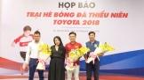 TMV khởi động Trại hè Bóng đá Thiếu niên Toyota 2018
