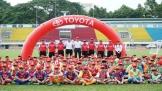 Khai mạc trại hè bóng đá thiếu niên Toyota 2018 vòng sơ tuyển