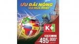 K+ sẵn sàng với 64 trận đấu FIFA World Cup 2018