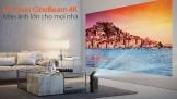 LG Laser CineBeam 4K: Màn ảnh lớn cho mọi nhà