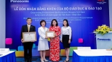Panasonic Risupia Việt Nam nhận bằng khen của Bộ Giáo dục và Đào tạo