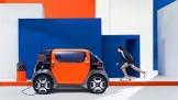 Citroën giới thiệu mẫu ô tô điện 2 chỗ ngồi Ami One Concept