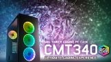 FSP CMT340 RGB: Case máy tính sử dụng kính cường lực