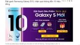 Di Động Việt ưu đãi lớn cho bộ đôi smartphone Galaxy mới của Samsung
