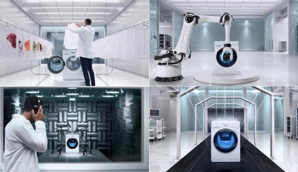 Máy giặt Samsung vượt qua 150 thử thách khắc nghiệt