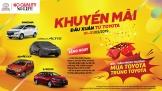 Toyota Việt Nam ưu đãi đầu Xuân