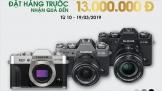 Đặt mua Fujifilm X-T30, nhận quà tặng đến 13 triệu đồng