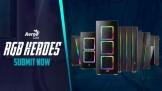 Aerocool ra dòng thùng máy tính RGB Heroes