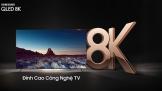 Samsung mang TV QLED 8K về Việt Nam