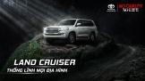 Land Cruiser 2019 lăn bánh tại Việt Nam