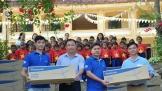 Panasonic 'mang gió yêu thương' cho cộng đồng
