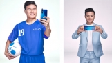 Cầu thủ Quang Hải làm đại sứ thương hiệu Vivo V15