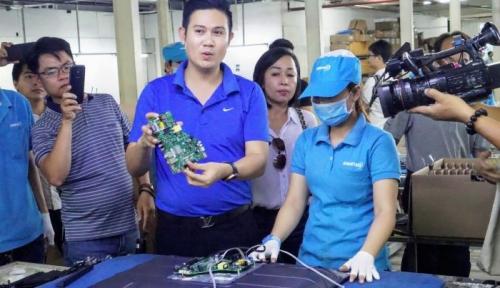 CEO Asanzo phản hồi và sẽ khánh thành nhà máy sản xuất bo mạch cho TV trong tháng 6 này