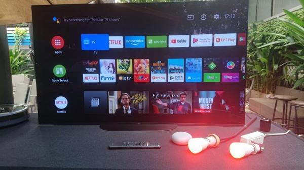 Sony Android TV: Biến TV thành trung tâm điều khiển và quản