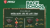 Cùng MSI 'Back to Shool 2019'