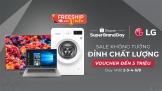 Cùng 'Sale không tưởng, đỉnh chất lượng' với LG trên Shopee