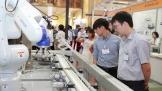 Epson trình diễn giải pháp robot công nghiệp