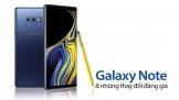 Galaxy Note và những thay đổi đáng giá