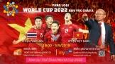 World Cup 2022: Thái Lan - Việt Nam sẵn sàng trên MyTV