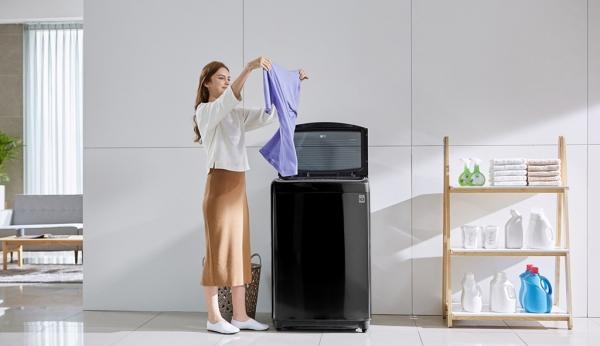 Trải nghiệm giặt giũ hoàn hảo với máy giặt lồng đứng của LG