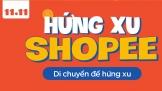 Shopee Siêu Sale 11.11: Game AR Hứng Xu
