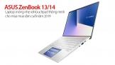 ASUS ZenBook 13/ 14: Laptop mỏng nhẹ với touchpad thông minh cho mùa mua sắm cuối năm 201A